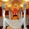 chuppah linens from Party Decor